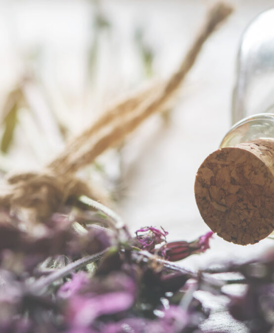 Background-header for natural cosmetics, wellness or homeopathy